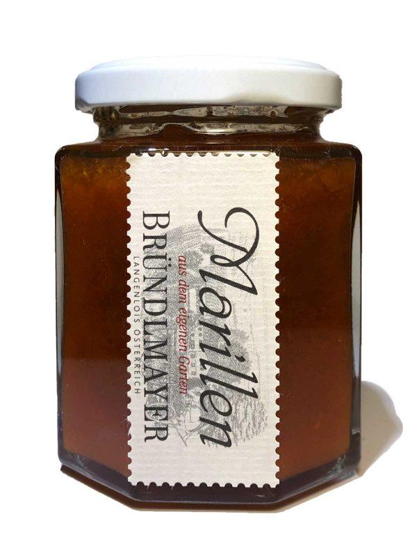 Marillen-Marmelade aus dem Hausgarten