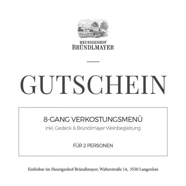 8-GANG VERKOSTUNGSMENÜ inkl. Gedeck & Bründlmayer Weinbegleitung